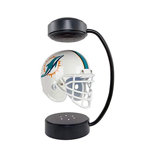 XYW Hover Helmets con Soporte electromagnético y lámpara de atmósfera,Casco de fútbol Americano levitante Coleccionable de la fanáticos de los Deportes de Rugby Oficina dormitorioRegalos creativos