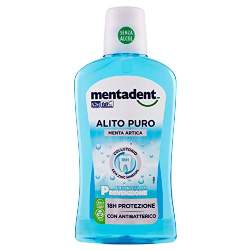 Mentadent Collutorio Alito Puro - 500 Ml