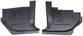 Ecklers Premier Quality Products 57-136597 Chevy Kick Panels Black,
