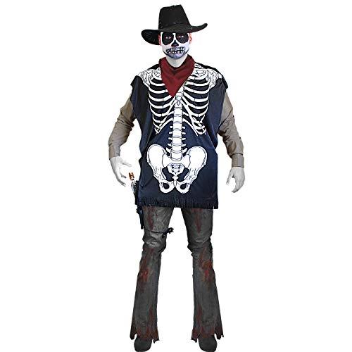 Poncho de esqueleto