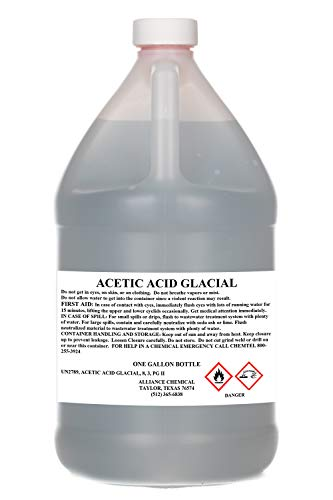 Acetic Acid Glacial 100% Technical Grade (1, One Gallon)