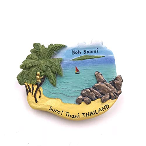 Bella Magneti per FrigoriferoCalamite da Frigo Viaggio Souvenir del Modo Phuket Tailandia Fridge Magnet Sticker Decor Casa Regalo