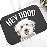 WCPAW Felpudo Alfombra de baño Alfombra Cool Labradoodle Dog...