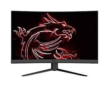 MSI Optix G32CQ4 QHD 1500R Curvature 16 9 Aspect Ratio Non-Glare Super Narrow Bezel 1ms 2560 x 1440 165Hz Refresh Rate Tilt Adjustment AMD FreeSync 32  Curved Gaming Monitor Black