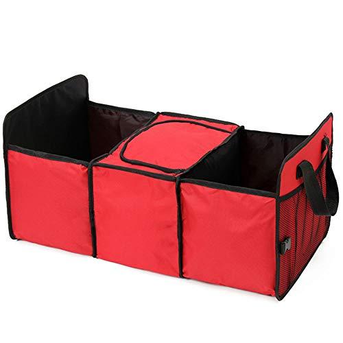 Organizador Carro com área térmica Banco traseiro porta mala Vermelho GT461-R - Lorben