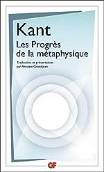 Les progrès de la métaphysique d'Emmanuel Kant