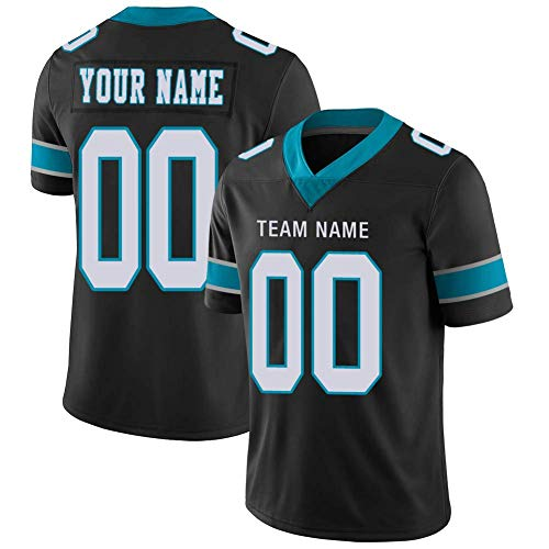 Carolina Jerseys Custom 2 Sided for Men Women Youth Customized Jersey Team Uniforms Embroidery Stitched Any Name Number