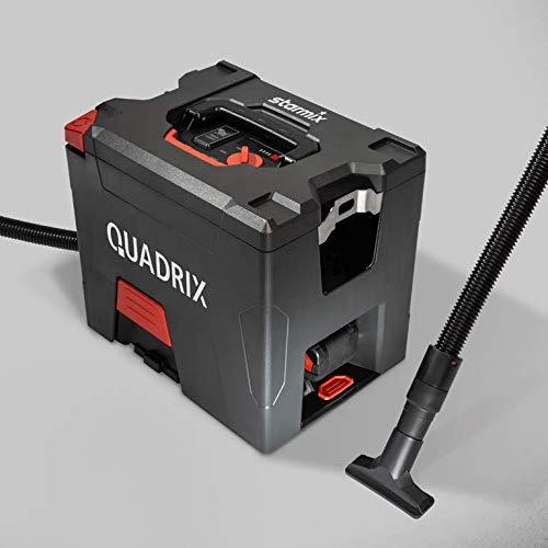 Starmix Akkusauger Quadrix L 18V (ohne Akkupack/Ladegerät), Leichter und kompakter Sauger für mobilen Einsatz (18 V, 7,5 L)