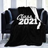 Class of 2021 Super Soft Micro Fleece Blanket air Conditioning Blankets Suitable for Sofa Bed