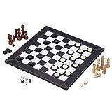 FABAX Schachbrett Leder Tragbare Schachspiel Folding Schachbrett Brettspiel bewegliches Kind-Spielzeug-Geschenk Schach