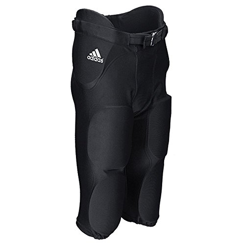 adidas Youth Audible Padded Football Pant M Black
