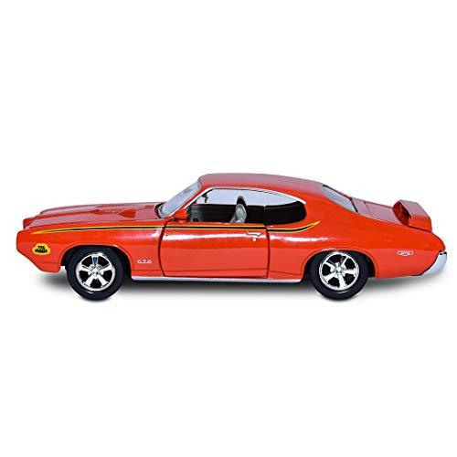 Miniatura Pontiac Gto Judge 1969 Motormax 1/24