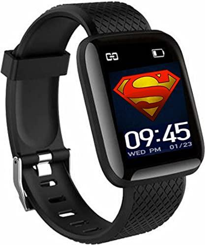 HUG PUPPY Bluetooth Wireless Smart Fitness Watch for Boys,Men,Kids,Women Sports Watch Heart...