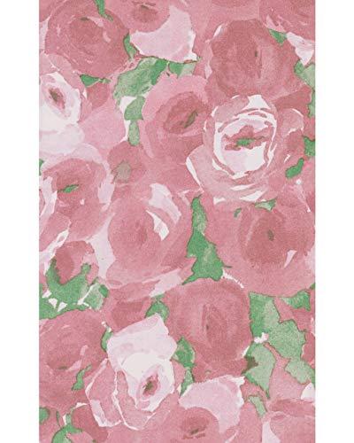 Duni Dunicel 20 Stück Mitteldecken 84 x 84 cm Tischdecken stoffähnlich Elena Altrosa Rosen