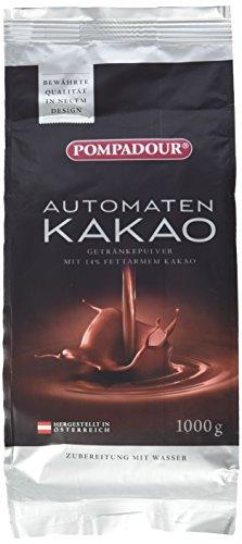 Pompadour Automaten Kakao 1 kg, 2er Pack (2 x 1 kg)