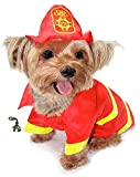 Cute Doggie Fireman Fire Chief Costume with...