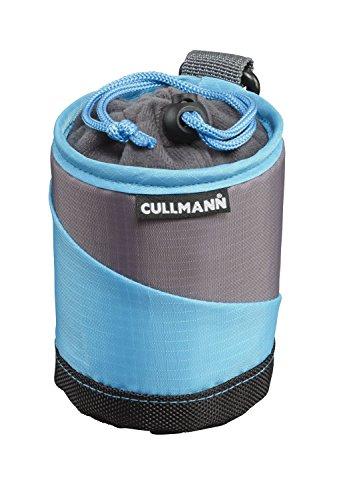 Kleine und Wasserabweisende Schutz-Tasche für Kamera-Objektiv vonCullmann, Cyan/Grau, Lens Container