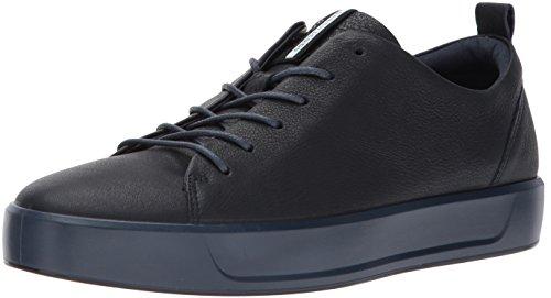 Ecco Herren Soft 8 Men's Sneaker, Blau(Night Sky 1303), 46 EU