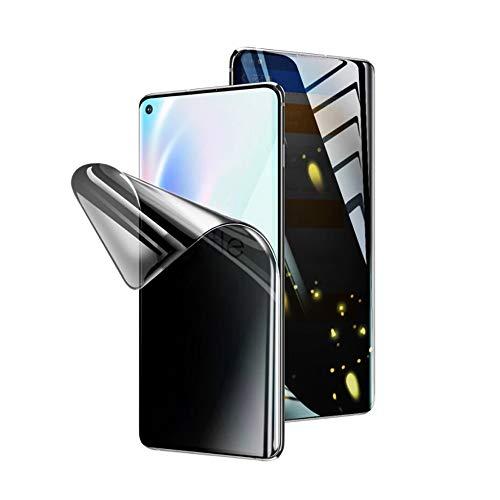 Iiseon Privacy Pellicola in idrogel Protettiva per Samsung Galaxy Note 20 Ultra 5G/4G, 2 Pezzi Anti-Spia Morbido TPU Protezioni per Lo Schermo [Copert