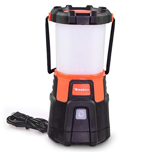 Blazin' Fireball | Brightest LED Lanterns Rechargeable USB | Storm Hurricane Emergency Light | Power Outage | Battery Bank For Phones | Rechargeable Lamps | 1000 Lumen Light