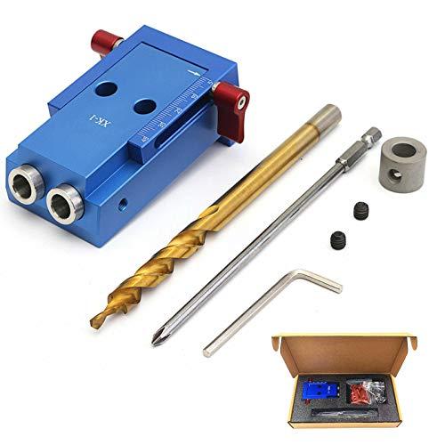 Kit de carpintería para taladro de aleación de aluminio, guía oblicua para...