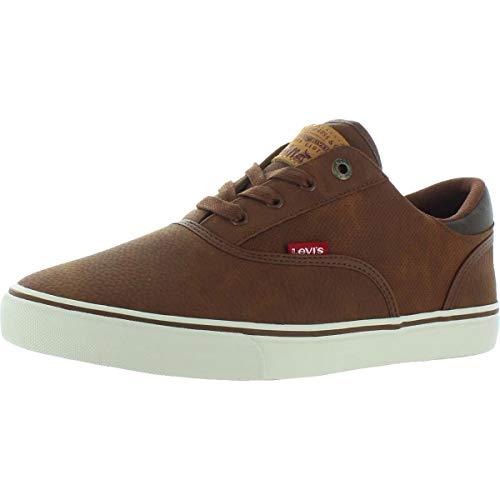 Levi's Mens Ethan Perf WX UL NB Classic Fashion Sneaker Shoe, Tan, 10 M