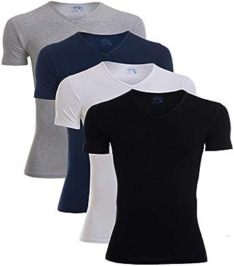 Cottonil Under Shirt For Men - White-Black-Grey-Navy
