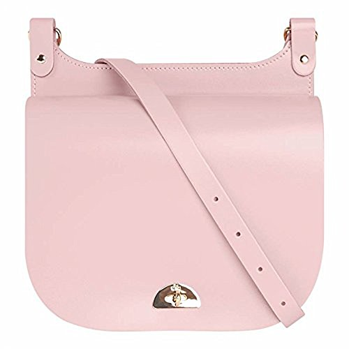 The Cambridge Satchel Company Medium Conductors Bag in Peach Pink Patent Leather