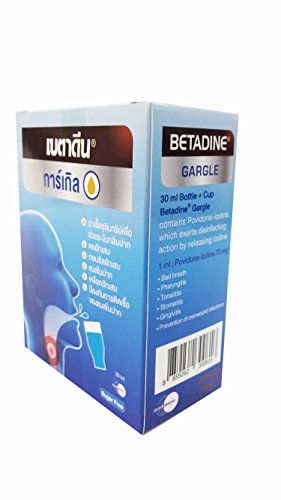 2 Packs of Betadine Gargle, Prevent…