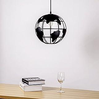 Modern Simple Artistic Creative Globe Single Head Chandelier (Size : Long 40cm)