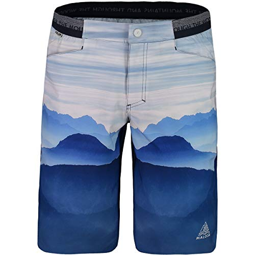 Maloja Gionmprinted Shorts für Herren M Bergsee