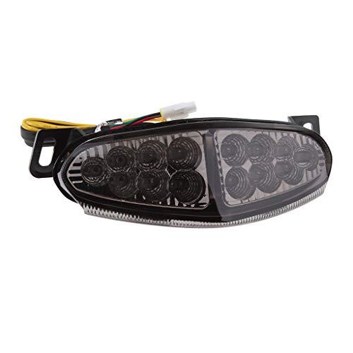 Homyl Feu Clignotant de Frein Arrière à LED Pièces De Moteur - pour Kawasaki Ninja 650R / ER6N 09-11