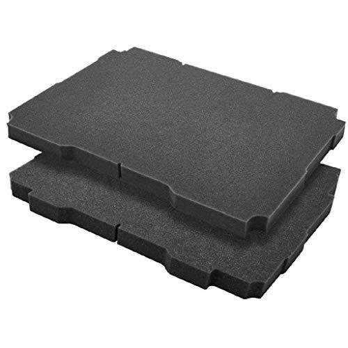 Festool 204942 Rasterschaum SE-VAR für Systainer³ Größe M Inhalt 2 Stück, Farbe, M