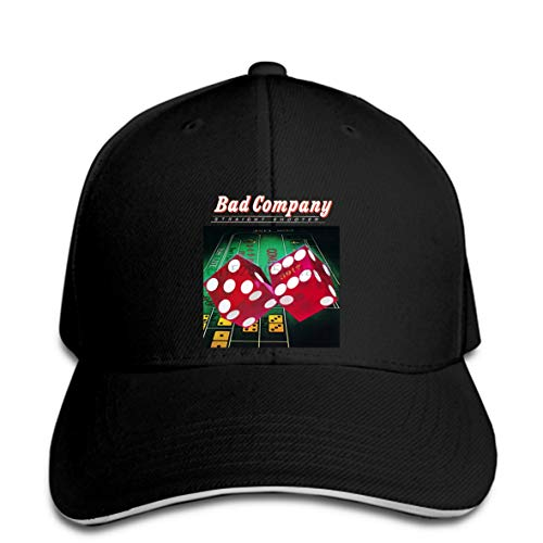 Baseball Cap Fashion Bad Company Straight Shooter Black Band Baseball caps