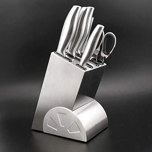 wosume - Banda de cuchillo de acero inoxidable, barra de cuchillo multifuncional...