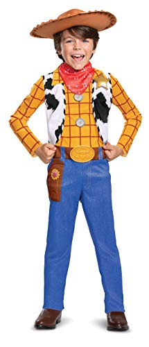 Woody Classic Toy Story 4 Child Costume, M (7-8)