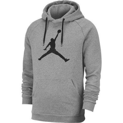 Jordan Jumpman Logo Sudadera, Hombre, Carbon Heather/Black, XS