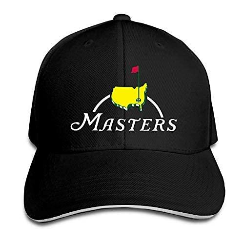 Masters Tournament Augusta National Golf Fashion Sandwich Berretto da Baseball Cappello con Visiera Curva Regolabile Adjustable