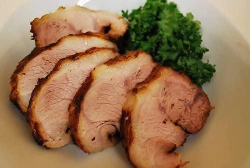 焼豚(黒チャーシュー)100gスライス(自家製タレ付き)チャーシュー 叉焼 焼豚 国産 酒のつまみ