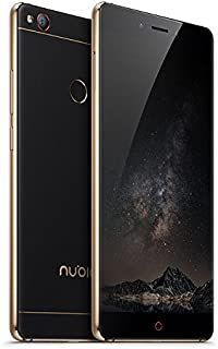 Nubia Z11 plus black gold