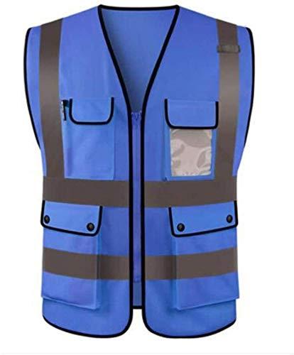 Outdoor zichtbaarheid reflecterend vest Vest Reflecterende Safety High Visibility werkkleding veiligheidsvest Logo afdrukken Workwear Veiligheid Gilet Veiligheid Vesten Met Reflector Stripes Arrival V