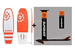 SLINGSHOT SPORTS 2019 Slingshot Hover Glide Foil Wake Wake Foil Complete Package (incl. WF2 SoftTop board), 19236025 NEW For 2019 -- The WF2 SoftTop Board Full Soft Top Construction This board can be converted between Foil (Above the water) or Tradit...