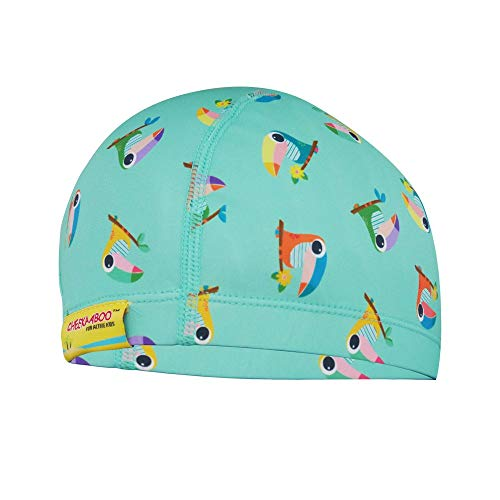 Cheekaaboo Waterproof Lycra Swim Cap for Toddler and Kids, Age 2-8