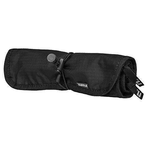 Nécessaire Compactável Roll Kit, CURTLO, ACS046, Unissex, Preto