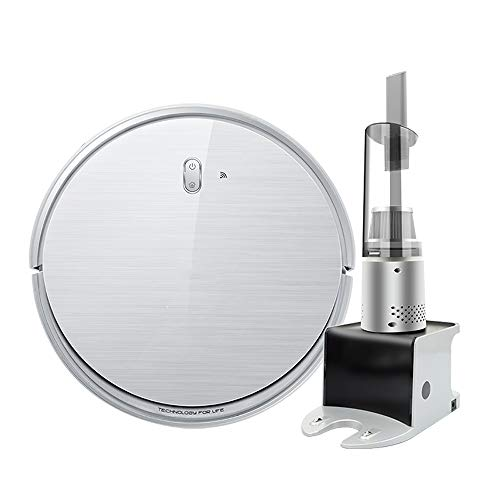 Fantastic Prices! C&L Chun Li Robot vacuums, Slim Built-in AI core mop, Handheld one Small Automatic...