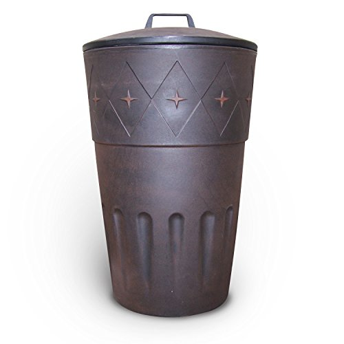 Why Should You Buy Decorative Outdoor Wheeled Trash and Storage Bin (Ivory)