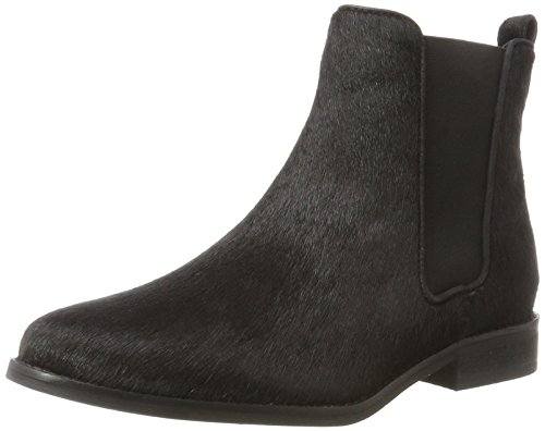 Maruti Damen Passoa Hairon Leather Chelsea Boots, Schwarz (Pony Black), 40 EU