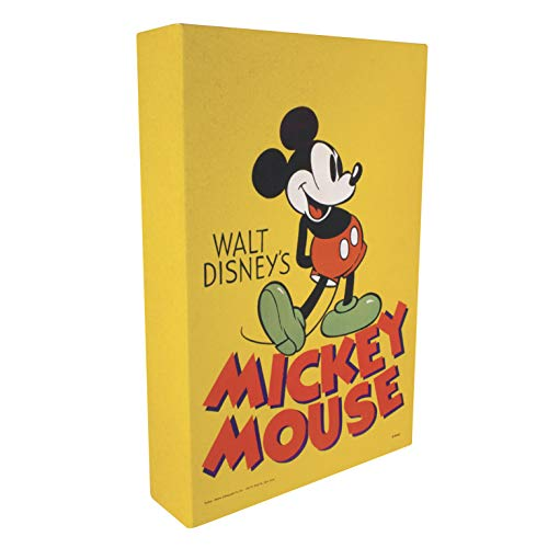 Paladone Mickey Mouse Luminart Impression sur toile Luminart Multicolore