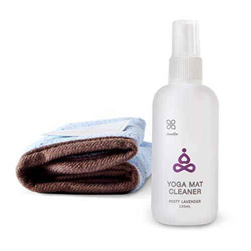 OKIEOKIE Nettoyant pour Tapis de Yoga 100% Naturel, sans Danger pour Tous Les Tapis, sans résidus Collants ou Collants 1. Misty Lavender