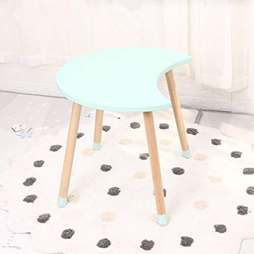 Jtoony Biurko do nauki dla dzieci zabawa meniskus stół do nauki dziecięcy ergonomicznie rośnie wraz ze stołem dziecka dziecka (kolor: Zielony, rozmiar: 60 x 49,2 x 50 cm)
